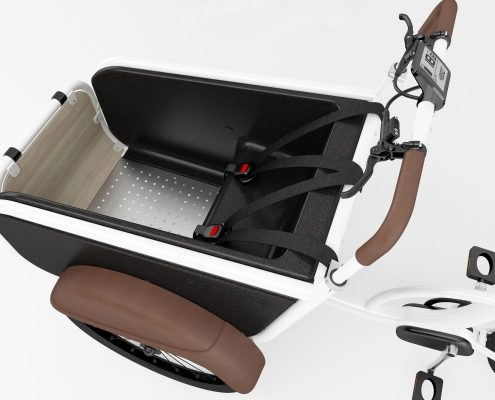 Frontplaat bakfiets – Front plate carrier cycle Van Drenth Buighout