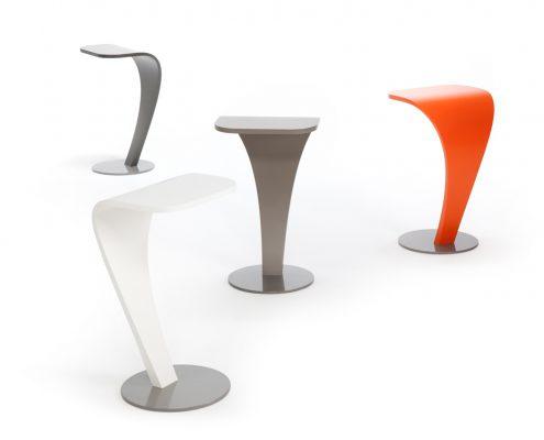 Laptop/bijzettafel - Laptop/side table Van Drenth